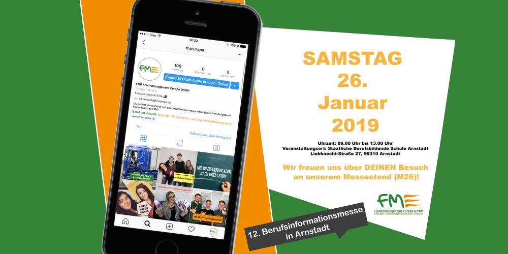 Berufsinformationsmesse 2019 in Arnstadt