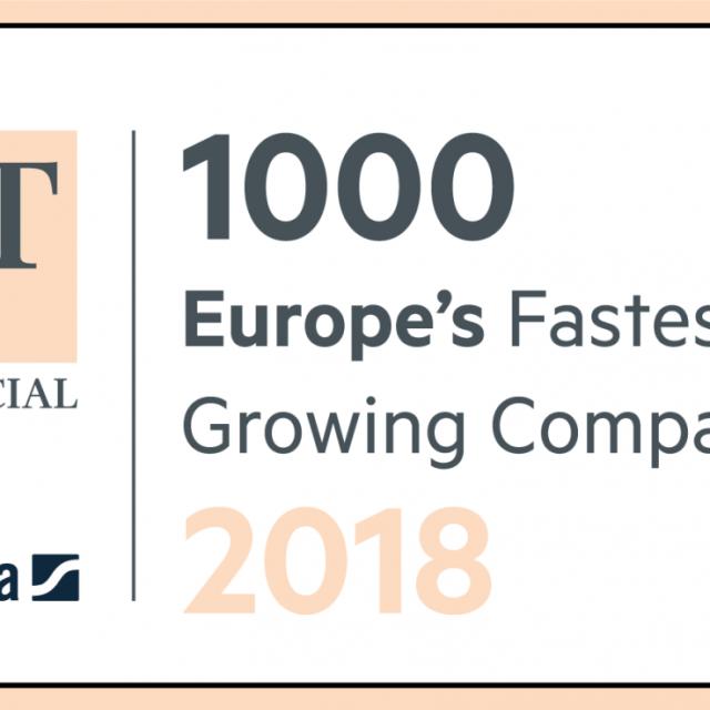 FME zählt erneut zu den Top1000 Firmen in Europa mit dem stärksten Wachstum